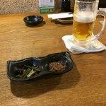 茅ヶ崎 海ぶね - おとーし 最初は生ビールで連日の猛暑を吹き飛ばす