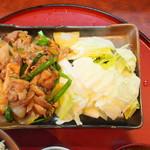 みかづき - 生姜焼き