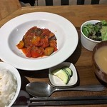 紅茶とお酒の店 teato - この日のランチセット