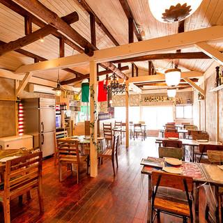 様々なシーンに最適の、カフェのようなお洒落空間♪