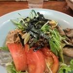 元祖ぴかいち - 胡麻ダレ冷し麺。