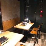 焼肉ホルモンブンゴ - 二階の客席