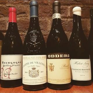 季節と料理に合わせたナチュラルワイン