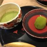 餅菓子商 白谷 - 抹茶&抹茶おもち