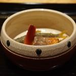 御料理 堀川 - 琵琶湖の稚鮎天ぷら、トキシラズ、新銀杏