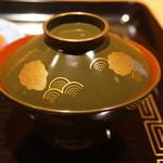 御料理 堀川 - 赤出汁