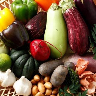 野菜ソムリエが目利きした、旬の食材をお楽しみ頂けます◎