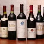 フレンチごはん 西麻布 GINA - さまざまなワインをご用意しております。持ち込みも可能です。ご相談ください。