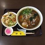 中華レストラン 紅華 - ミニ丼セット カレーラーメン&ミニ紅華丼
