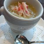 90254286 - 冬瓜とズワイ蟹のふかひれスープ