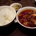 90254291 - 陳健一の麻婆豆腐御膳