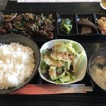 延火 - 料理写真:鶏レバー定食