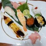 海鮮問屋 太へい洋 - お寿司の盛り合わせ
