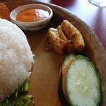 90259364 - ◯ゴルベラコアチャール、△ムラコアチャール、◯+カット野菜