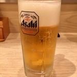 麺匠 一本道 - 生ビール