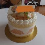 9026375 - ピーチのホールケーキ