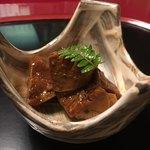うなぎ割烹 大江戸 - あん肝(山椒煮)