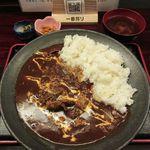 風雷坊 - 和牛の絶品ハヤシライス定食(2018/08/02撮影)