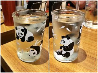 銀だこ 大衆酒場 - 御代桜 パンダカップ ¥600