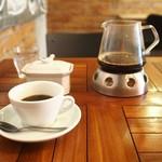 Ailes Cafe - 固形燃料であたたかさキープ