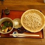 石臼挽き 椛 - 料理写真:鴨せいろ1500円