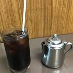 センリ軒 - アイスコーヒー 380円