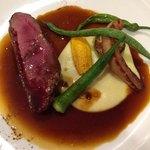 サラマンジェ ド ヨシノ - お肉のメインは鴨肉でした