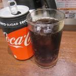 いきなりステーキ - 続いてゼロコーラ300円も運ばれてきました。