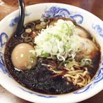 大島横丁 - 麺蔵らーめん+煮卵