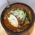 創作麺処 麺ソウル ラボ - 8月限定「麺魂!!チリトマトらーめん」
