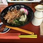 さんておーる食堂 - 料理写真:冷やしぶっかけ 大盛 ¥400