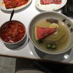 90271680 - 盛楼閣冷麺 辛味別(1000円)(2018年6月)