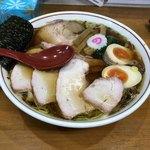 90272702 - 醤油味焼豚ワンタン麺味玉入り