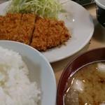 井泉 - ロースお定食。