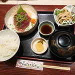 大塚 三浦屋 - 鰹のお刺身膳 201808
