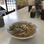 みなと食堂 - 今日は魚ではなく「中華そば」です(2018.8.3)