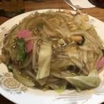 90276872 - 焼きそば(パリパリ麺)650円