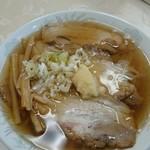 佐野ラーメン しばちゃん - チャーシュー麺ニンニクトッピング!  ミラクルうましっ!