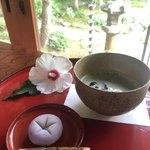 90279067 - 上生菓子とお抹茶(冷)