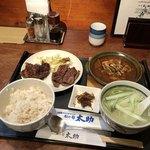 杜の都 太助 - 昼牛タン焼2種類&牛たんシチュー