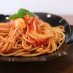 Pasta+CafeDining Sonora - 料理写真:フレッシュバジルとモッツァレラチーズのトマトパスタ☆