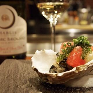 「ソムリエによる料理とワインのペアリング」