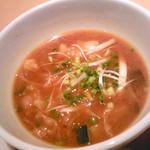 9028682 - 具たくさん味噌スープのカレー風味