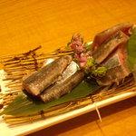 小ぼけ - 秋刀魚の刺身