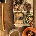 文房具カフェ - 給食プレート