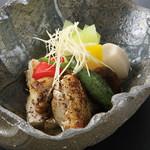 和 吉野 - 【夏限定メニュー】若鶏の黒七味焼