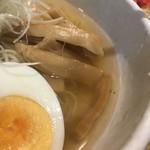 90283280 - 冷やしラーメン…透き通るスープ♪