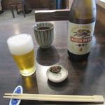 90283713 - 瓶ビール・お通し
