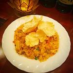 キッチン&バー ジャカルタ - ナシゴレン ニンニカレー味 インドネシア定番炒飯