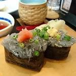 90284264 - 生しらす寿司     ¥500